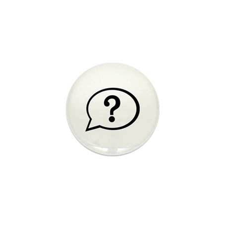 Speech bubble Mini Button