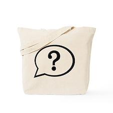 Speech bubble Tote Bag