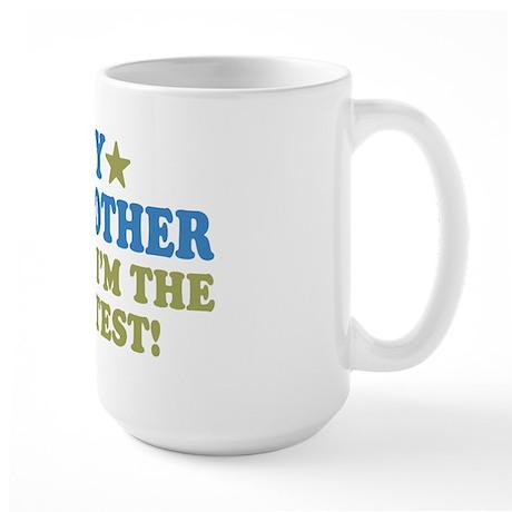Greatest God Mother Large Mug