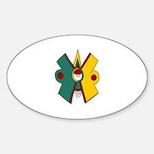 Ollin Sticker (Oval)