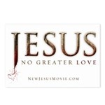 Jesus...No Greater Love Postcards (Package of 8)