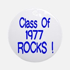 1977 blue Ornament (Round)