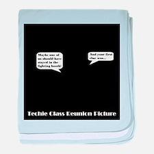 Techie Class Reunion baby blanket