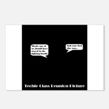 Techie Class Reunion Postcards (Package of 8)