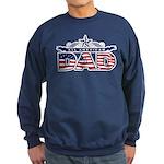 All American Dad #1 Sweatshirt (dark)