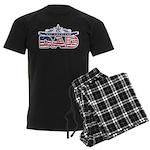 All American Dad #1 Men's Dark Pajamas
