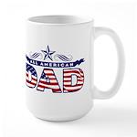 All American Dad #1 Large Mug
