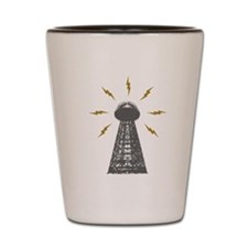 The Death Ray Tower Shot Glass