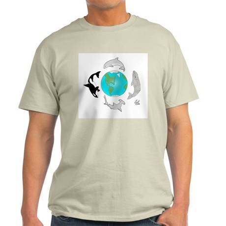 Earth Day Ash Grey T-Shirt