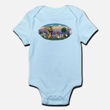 StFrancis-Dogs-Cats-Horse Infant Bodysuit