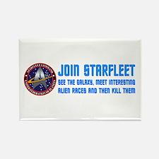ST: Starfleet Rectangle Magnet (10 pack)