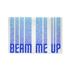ST: Beam Me Up Rectangle Magnet (100 pack)