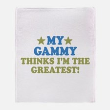 Greatest Gammy Throw Blanket