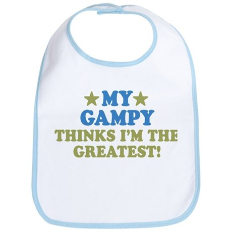 Greatest Gampy Bib
