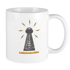 The Death Ray Tower and Title Mug