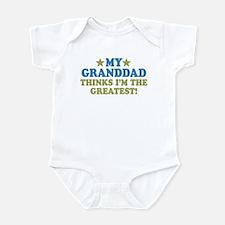 Greatest Granddad Infant Bodysuit