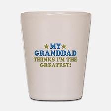 Greatest Granddad Shot Glass