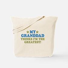 Greatest Granddad Tote Bag