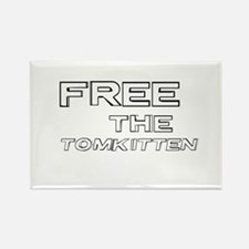 Free the Tomkitten! Rectangle Magnet