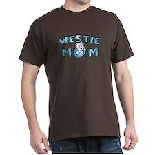 KiniArt Westie Mom T-Shirt