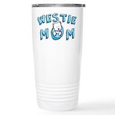 KiniArt Westie Mom Travel Mug