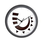 Tribal Hook Wall Clock