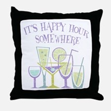 Happy Hour [2] Throw Pillow