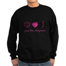 PEACE LOVE CHIROPRACTIC Sweatshirt