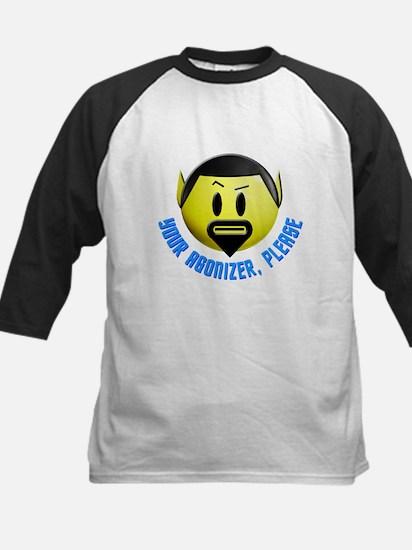 ST: Spock Smiley6 Kids Baseball Jersey