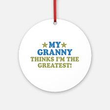My Granny Ornament (Round)