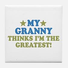 My Granny Tile Coaster