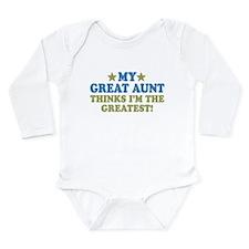 My Great Aunt Long Sleeve Infant Bodysuit