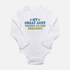 My Great Aunt Long Sleeve Infant Bodysuit