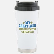My Great Aunt Travel Mug