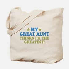 My Great Aunt Tote Bag