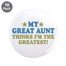 "My Great Aunt 3.5"" Button (10 pack)"