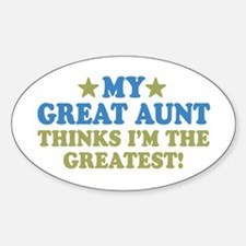 My Great Aunt Decal