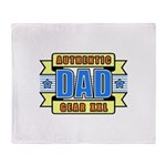 Authentic Dad Gear Throw Blanket