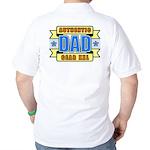 Authentic Dad Gear Golf Shirt
