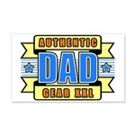 Authentic Dad Gear 22x14 Wall Peel