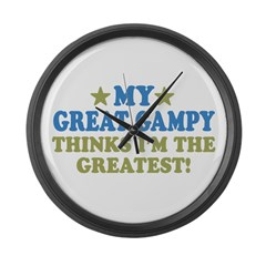 My Great Gampy Large Wall Clock
