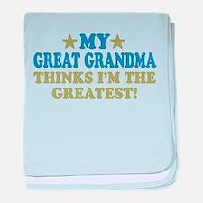 My Great Grandma baby blanket