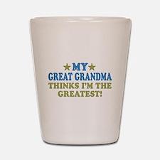 My Great Grandma Shot Glass