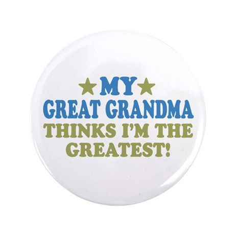 "My Great Grandma 3.5"" Button"