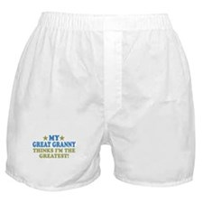 My Great Granny Boxer Shorts