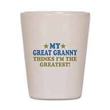 My Great Granny Shot Glass