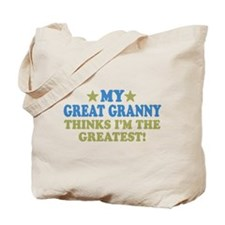 My Great Granny Tote Bag
