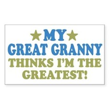 My Great Granny Decal