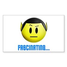 ST: Spock Smiley2 Decal