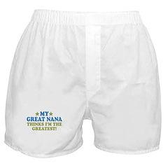 My Great Nana Boxer Shorts